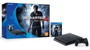 Sony PS4 Uncharted 4 Bundle + NHL 17 & Madden 17
