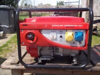 2.2KW 4 STROKE PETROL GENERATOR AS NEW