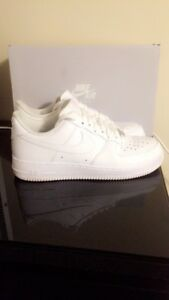 Size 8 white Air Force ones