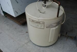 Hot water tank (12 Gallons) $50