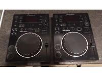 2x Pioneer CDJ 350 DJ Decks
