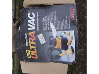 Wet and dry portable vacuum cleaner