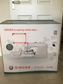 Singer Futura XL420 sewing & embroidery machine