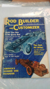#2 Rod Builder and Customizer (Sept., 1956) Elvis Presley