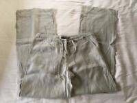 River Island Linen Pants Size 12