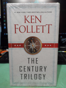 KEN FOLLETT: THE CENTURY TRILOGY@@@@BRAND NEW@@@@ IN CASE