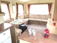 3 bedroom 8 berth static caravan for sale , monthly payment options available ! Deposits from 10%