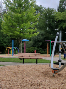 Horse back riding, splash pad, park, library and more!!