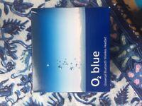 02 blue Universal Bluetooth Wireless Headset