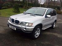 2001 BMW X5 SPORT,3.0 D,SERVICE HISTORY,SAT NAV,PARKING SENSORS,REMAP,230 BHP,10 MONTHS MOT,PX....