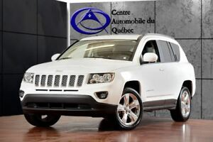 2016 Jeep Compass HIGH ALTITUDE  CUIR TOIT 4X4 133$/2SEM+TX