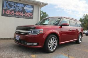 2014 Ford Flex Limited | AWD | LEATHER | NAV