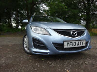 010 MAZDA 6 TS2 DIESEL 2.2 ESTATE,MOT JULY 018,2 KEYS,PART HISTORY,2 OWNERS,STUNNING FAMILY CAR