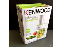 Kenwood Spiralizer FGP200WG , original in Box used 2 times only - warranty
