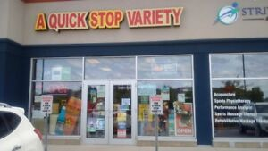 CONVENIENCE VARIETY KITCHENER..CLS TO HWY 401