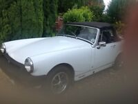 Mg might. Good runner . Full mot body work needs a little work. Recommended you come and look.