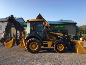 2014 JOHN DEERE 310SK BACKHOE - EXTENDAHOE - FULLY LOADED