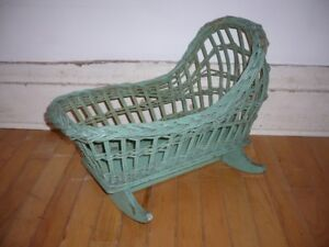 """OLD"" CHILD'S DOLL CRADLE"
