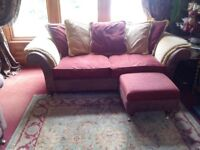 TWO LARGE 3 SEATER COUCHES