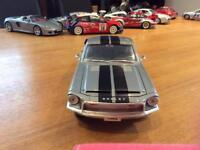 Ford 1968 Shelby mustang die cast model