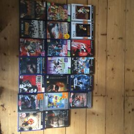 20 video games Xbox, PS2