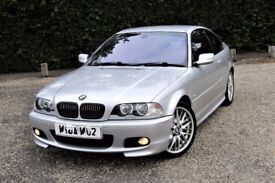 Reduced Bmw E46 330ci m sport Coupe Titan Silver VGC not m3 335 Quick sale