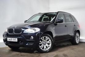 BMW X5 3.0 XDRIVE30D M SPORT 5d 232 BHP (black) 2009