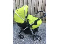 Silver Cross Pioneer Chrome Travel System & Accessories