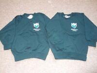 Warden Hill Infant School uniform jumper x 2 5-6 yrs size 26