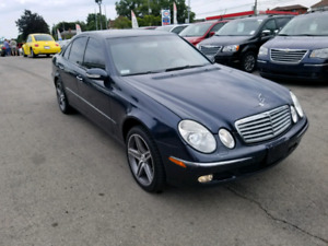 2004 Mercedes Benz E320 4 Matic No Accidents No Rust Mint