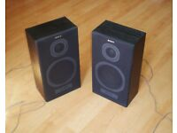 Sony 2-Way Hi-Fi Stereo Speaker System SS-A20, Black 2 x 35W - Floor Book Shelf