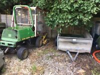 Outfront Rotary Mower + Trailer