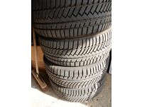 4 x Continental TS850P 255/50/R19 Tyres LOADS OF TREAD LEFT