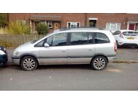 Vauxhall zafira 2003 spares or repairs