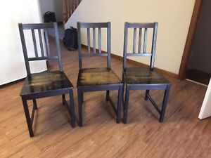 Chairs  $5 each or $20 for all 6