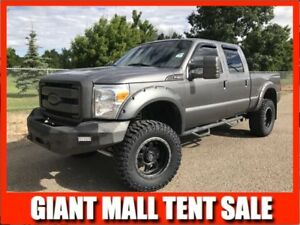 2013 F-350 SuperCrew 4x4 LARIAT **LIFTED DIESEL**