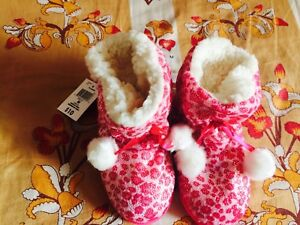 Kids Fleece Booties-Brand New(Size:4-6 years)