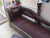 Traditional Moroccan Style Chaise Longue