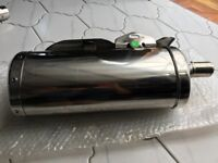 Triumph Speed triple (2010) LHS silencer (exhaust)