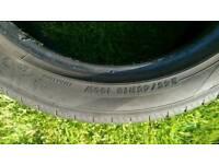 Car tyres Yokohama 245 45 R18