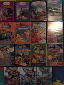 15 kids DVDs - Bob the Builder, Thomas the Train, Jake