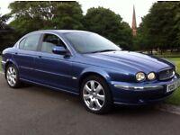 2005 jaguar x type 2.0 diesel SATNAV heated leathers full history not Audi a4 Astra golf civic focus
