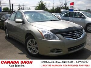 2010 Nissan Altima 2.5 S,LEATHER,ROOF,108 KM,12 M WRTY,$7490