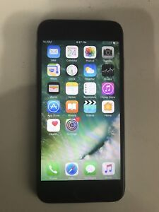 IPhone 6 Space Grey 16gb With Box