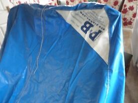 Solo dinghy flat mast up top covers
