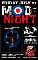 MOD NIGHT - live music, dj, drink specials and more
