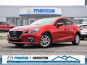2015 Mazda MAZDA3 SPORT GS Bluetooth, 7 Touch Screen, Push butto