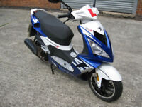 Peugeot Speedfight 3 125cc Blue 2015 15 reg 4300 miles
