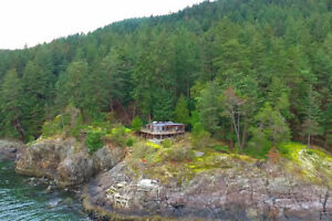 Bowen Island 23 Acre Waterfront Property on Seymour Bay