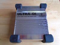 Behringer Ultra DI Active DI Box DI 100 – Excellent Condition